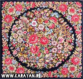 نقش گل فرنگ در فرش ایران