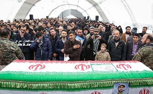 شهید مدافع حرم حسین حریری
