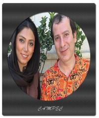 عکسها و بیوگرافی رامین ناصر نصیر با همسر