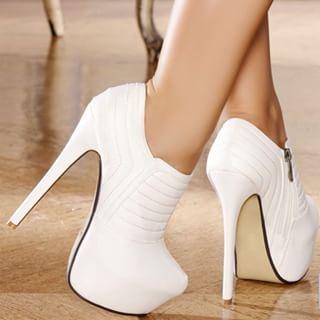 مدل کفش پاشنه بلند شیک عروس سری 6