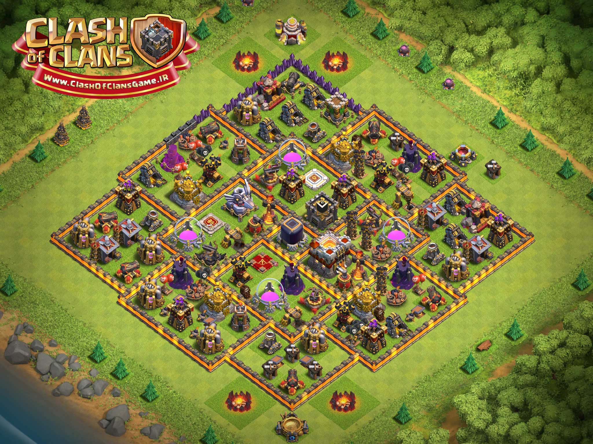 Farming Map For TH11