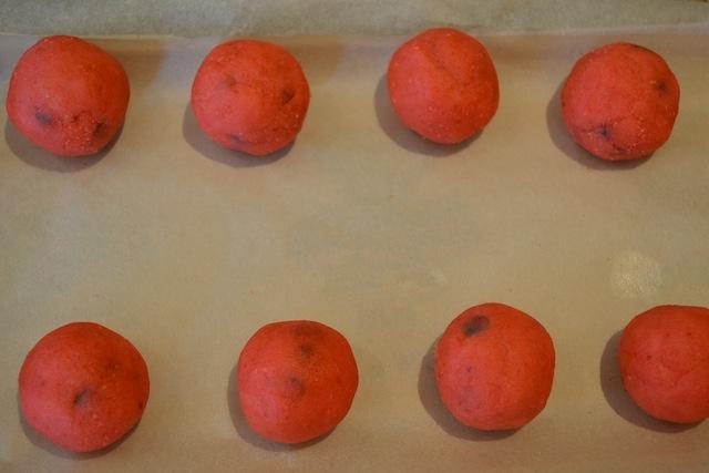 دسر ویژه شب یلدا-توپک های هندوانه ای