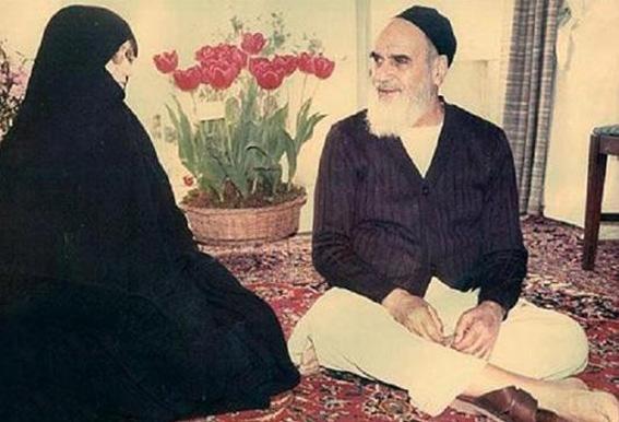 حضرت امام خمینی وخانواده-رفتاربا همسر-اخلاق درخانواده