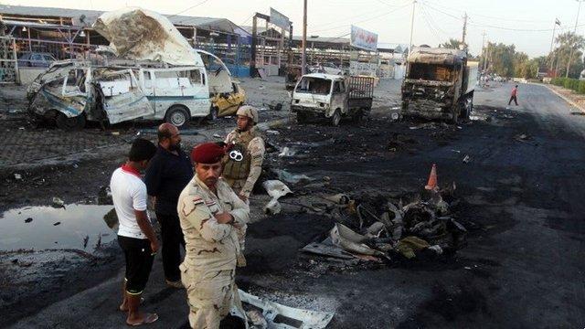 شمار زیادی از ۱۳۰ تن شهید و زخمی حمله انتحاری منطقه الشوملی شهر حله ، ایرانی و مهاجرین افغان هستند