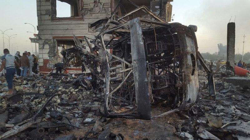 جزئیات کامل حادثه تروریستی پمپ بنزین حله عراق+اسامی شهدای ایرانی