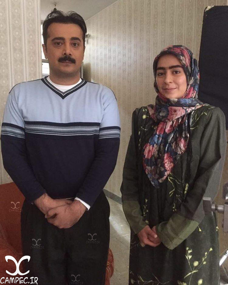 سمانه پاکدل و سپیند امیر سلیمانی در سریال همسایه ها
