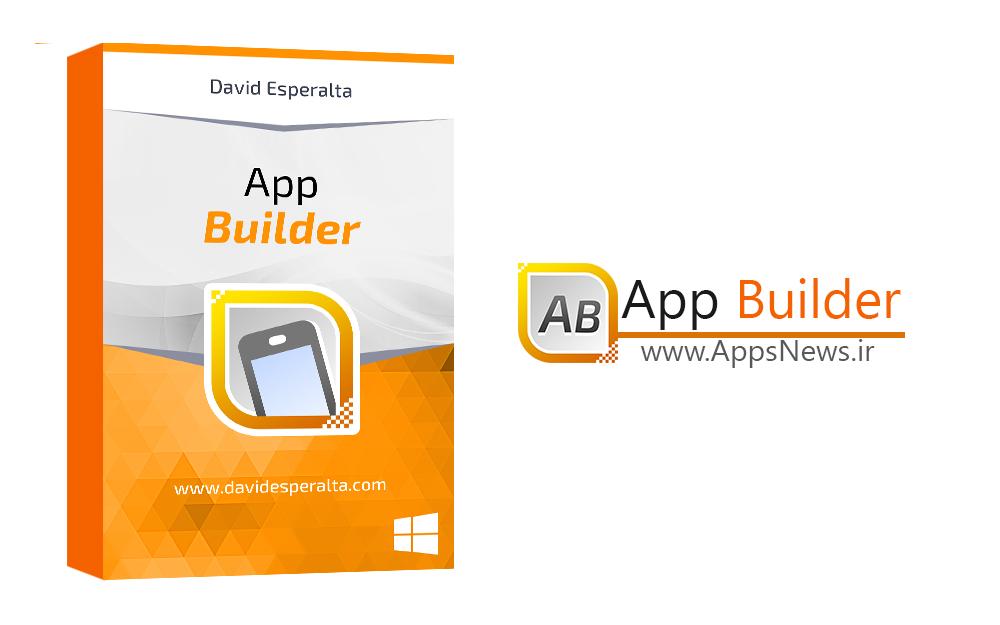 دانلود نرم افزار ساخت اپلیکیشن موبایل بدون کدنویسی App Builder v2016.210 برای ویندوز