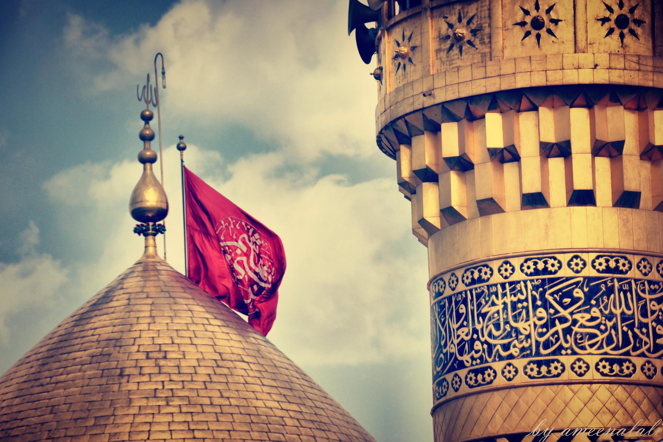 عکس اچ دی حرم امام حسین