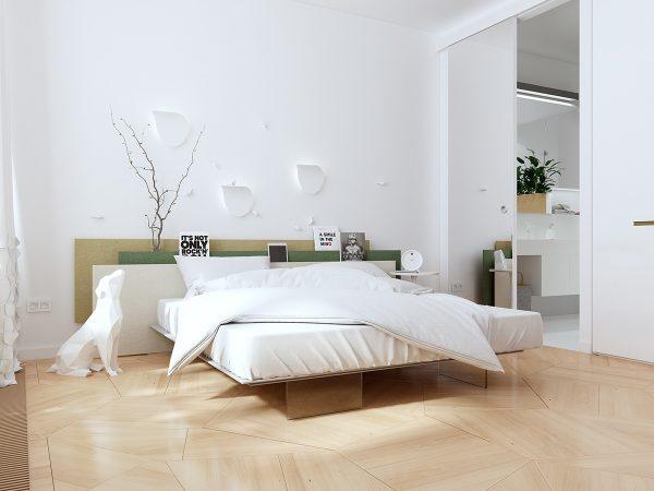 عکس اتاق خواب شیک و ساده1