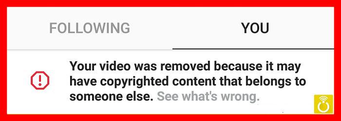 علت حذف خودکار برخی ویدئوها توسط اینستاگرام