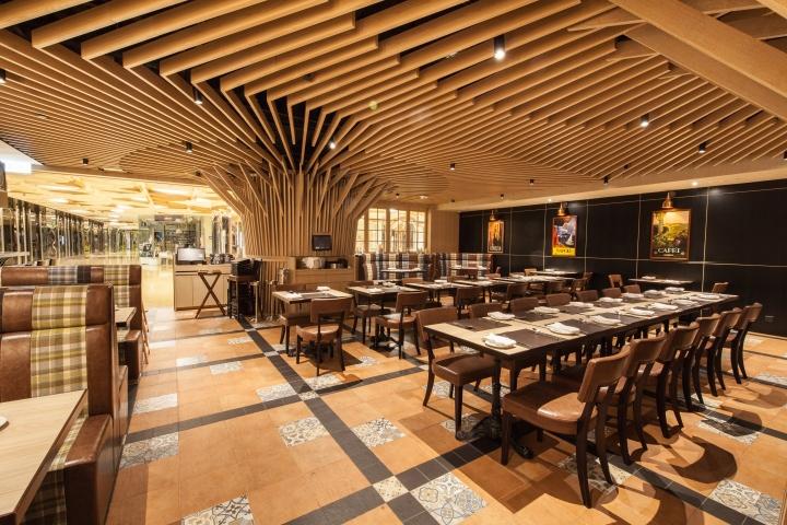 طراحی دکوراسیون رستوران به شیوه ایتالیایی