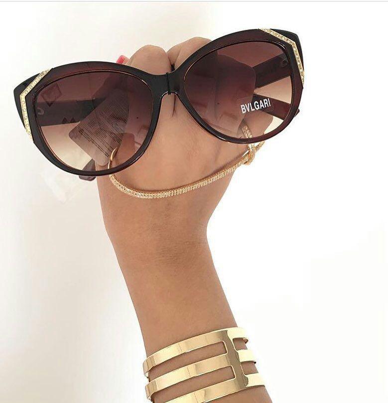 بولگاری سون عینک دودی زنانه اصل