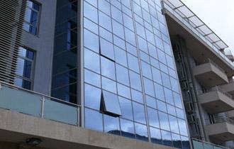 نمای فریم لس-نمای شیشه ای-شرکت سکو ایران