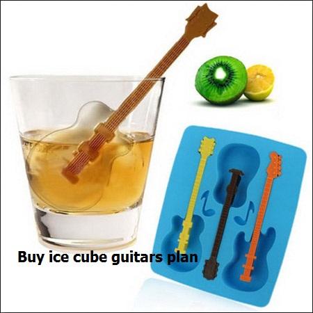 خرید قالب یخ طرح گیتار در فروشگاه گیره کوچک کننده بینی نوزآپ