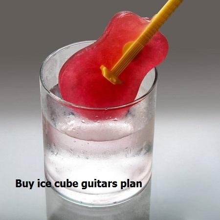 قیمت قالب یخ طرح گیتار
