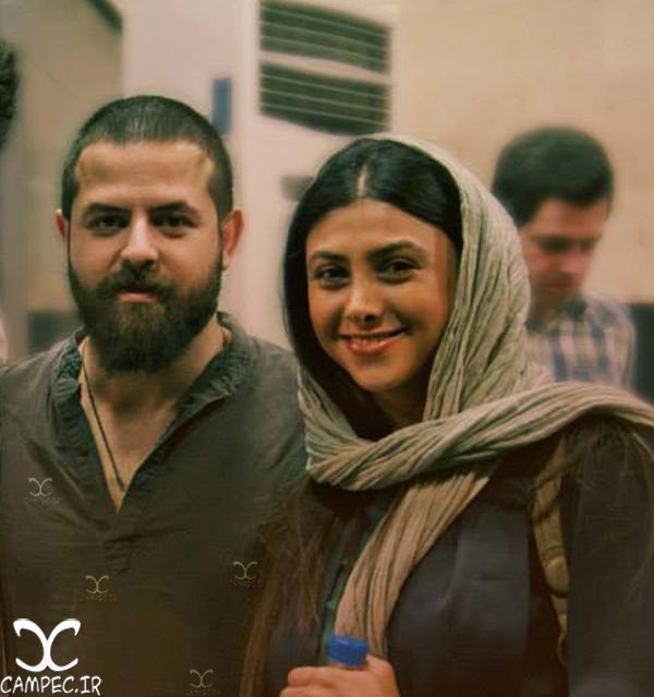 هومن سیدی و همسر سابقش آزاده صمدی