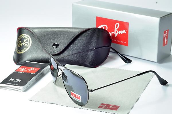 عینک ریبن فریم مشکی مدل 3025