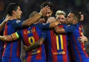 نتیجه بازی دیشب بارسلونا و هرکولس 11 آذر 95 فیلم خلاصه و گلها