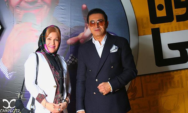 اکرم محمدی با فریدون آسرایی
