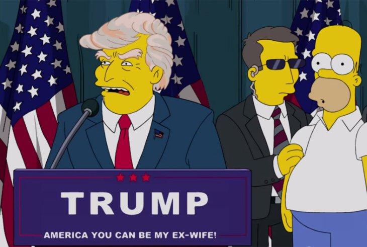 نویسنده «سیمپسونها»: به امریکا درباره ترامپ هشدار داده بودیم