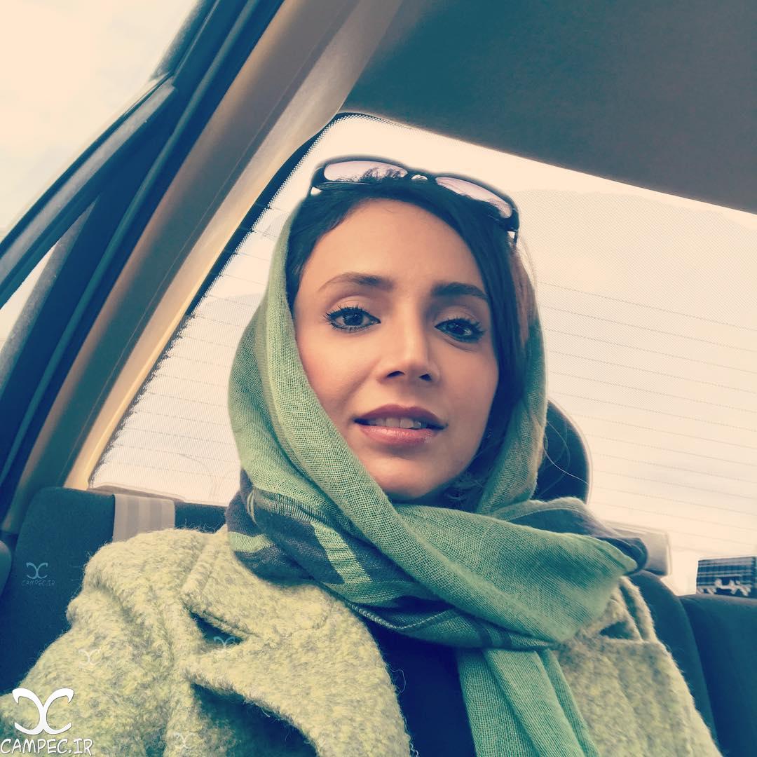 شبنم قلی خانی در سفر به اصفهان