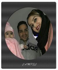 بیوگرافی کمال کامیابی نیا و عکس با همسر و فرزندش