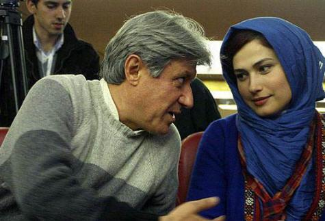 لادن مستوفی | لادن مستوفی و همسرش شهرام اسدی | بیوگرافی و عکس