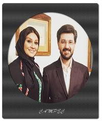 تصاویر امیر حسین مدرس با همسرش بهار بهاردوست +بیوگرافی