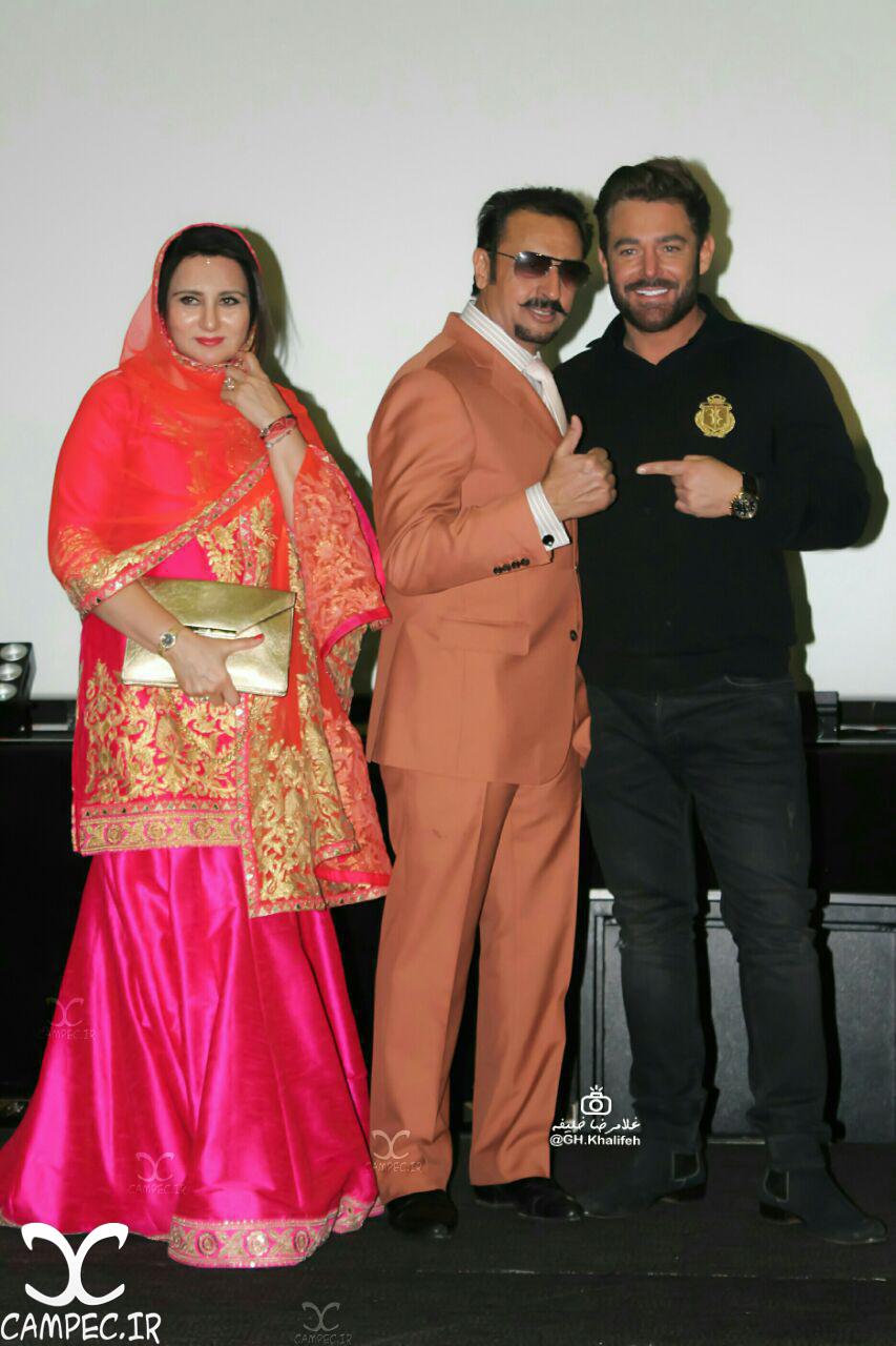 بازیگران فیلم سلام بمبئی در مراسم اکران فیلم