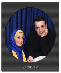 سپند امیرسلیمانی با همسرش + عکسها و بیوگرافی
