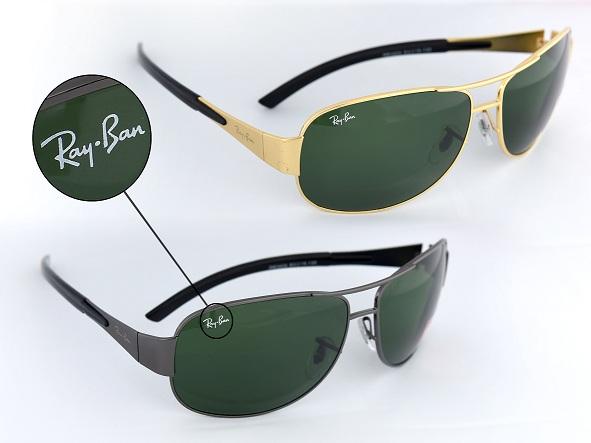 خرید عینک آفتابی مردانه طلایی مدل 3404
