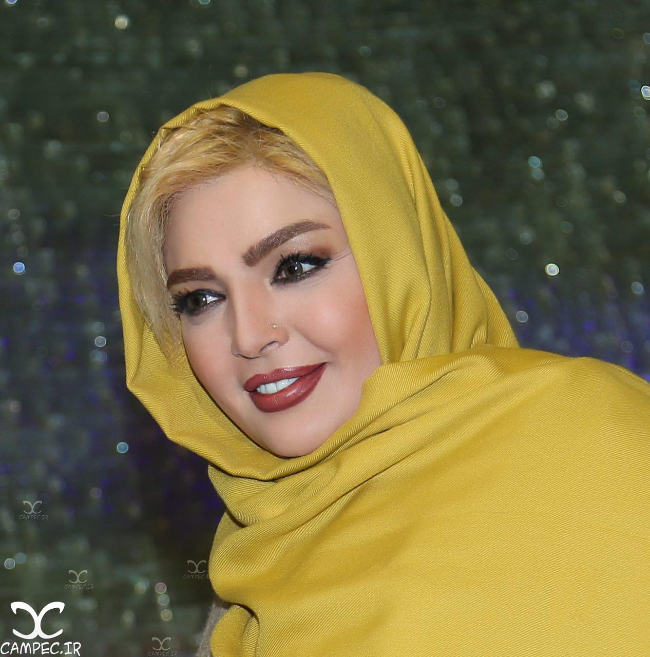 شهرزاد عبدالمجید در مراسم اکران فیلم لاک قرمز