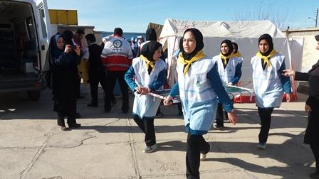 مانور سراسری زلزله مدارس