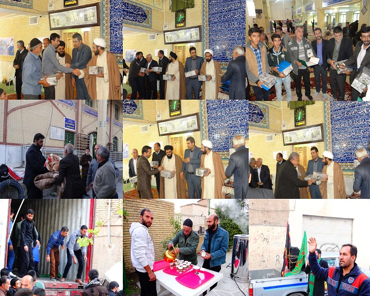تقدیر از خادمان حسینی فعال در موکب