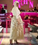 مدلهای لباس مهمانی اسلامی پوشیده برای بانوان