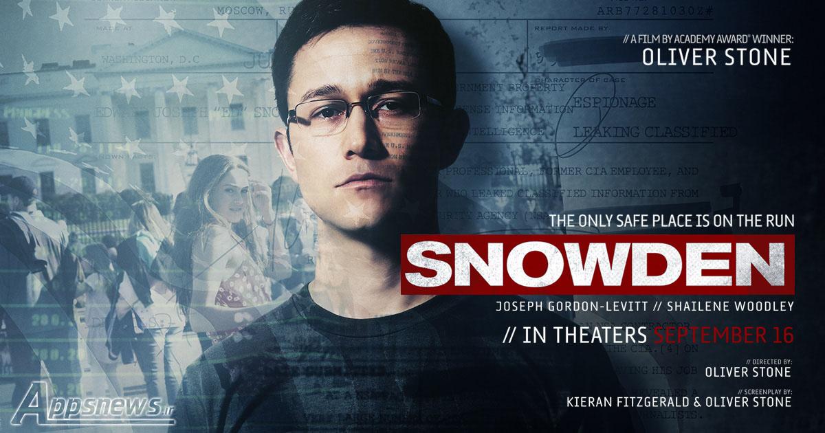 دانلود فیلم Snowden 2016 + زیرنویس فارسی