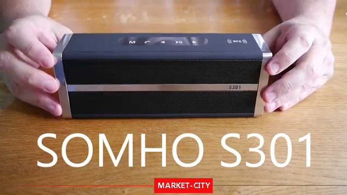 اسپیکر بلوتوث و قابل حمل SOMHO S301