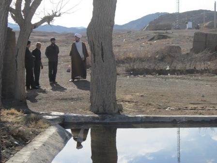 بازدید بخشدار روداب از روستاها