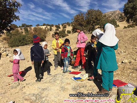 دانش آموزان پشت کوه جلیل رستم در اوج محرومیت!