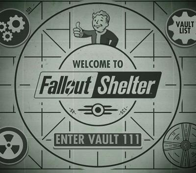 دانلود ترینر سالم بازی Fallout Shelter