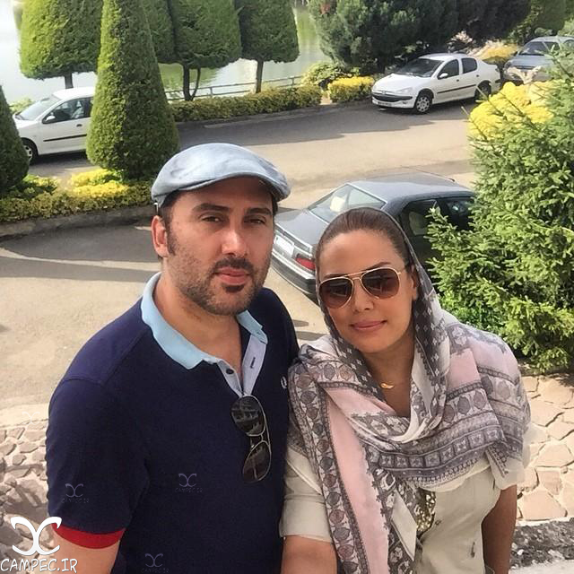 عکس نیما مسیحا با همسرش