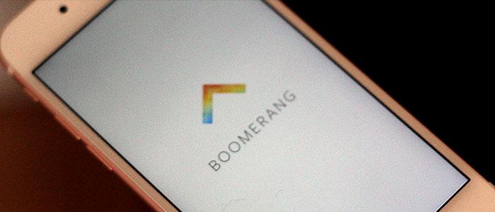 آموزش تصویری کار با قابلیت جدید بومرنگ Boomerang اینستاگرام