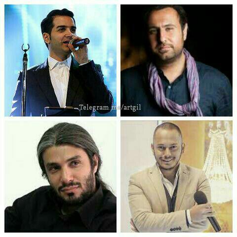 خواننده های بخش پاپ در جشنواره موسیقی فجر