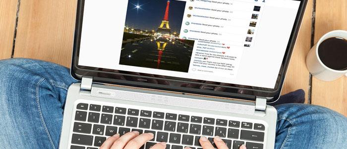 آموزش تصویری مدیریت اینستاگرام در کامپیوتر و مک و لینوکس mac , pc