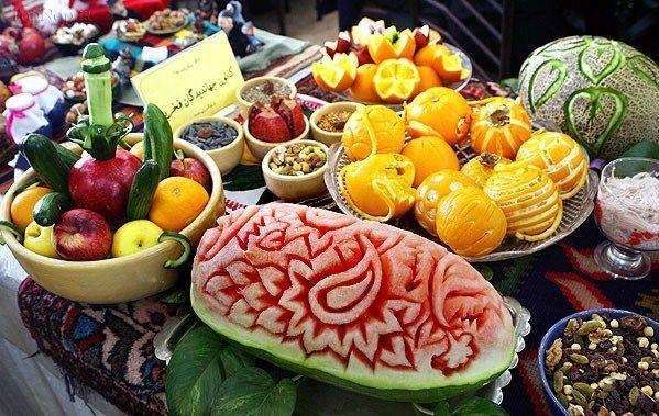 یلدا در آذربایجان