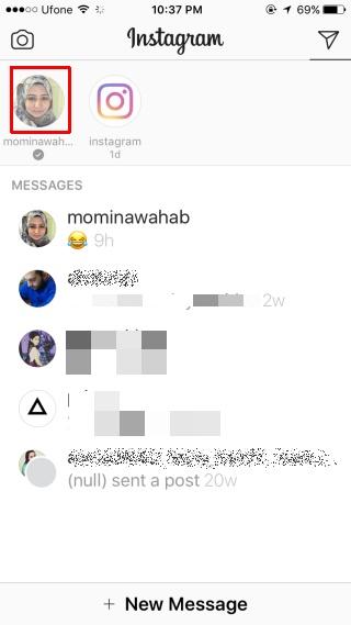 آموزش تصویری ارسال تصاویر زمان دار در اینستاگرام