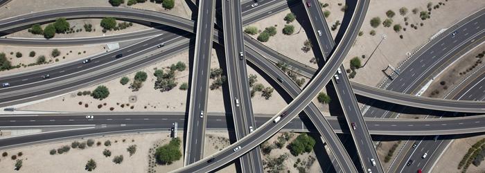 راه های مواسلاتی در کلان شهر ها