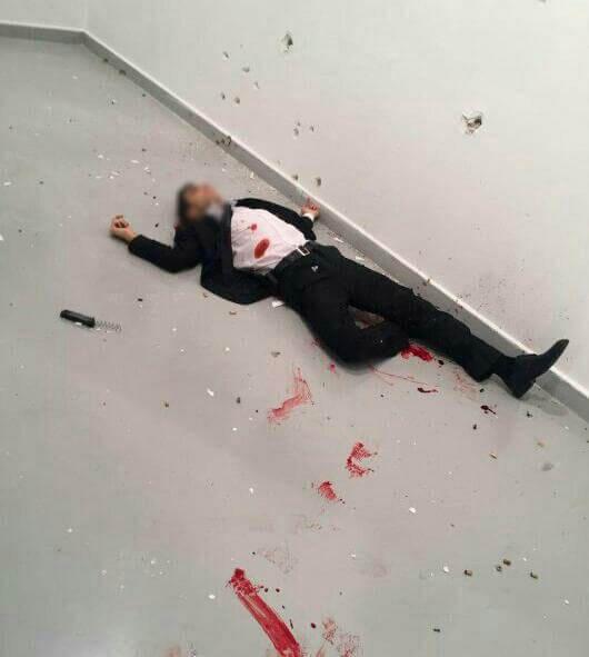 فیلم لحظه ترور سفیر روسیه در ترکیه
