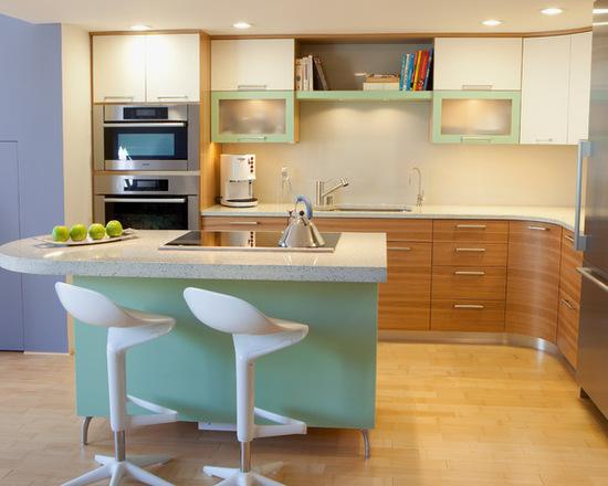 سبک و رنگ در آشپزخانه4
