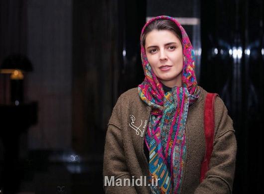 لیلا حاتمی در اکران فیلم وارونگی